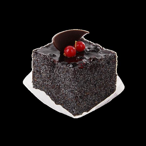 Пирожное Черника с маком, Cream Royal