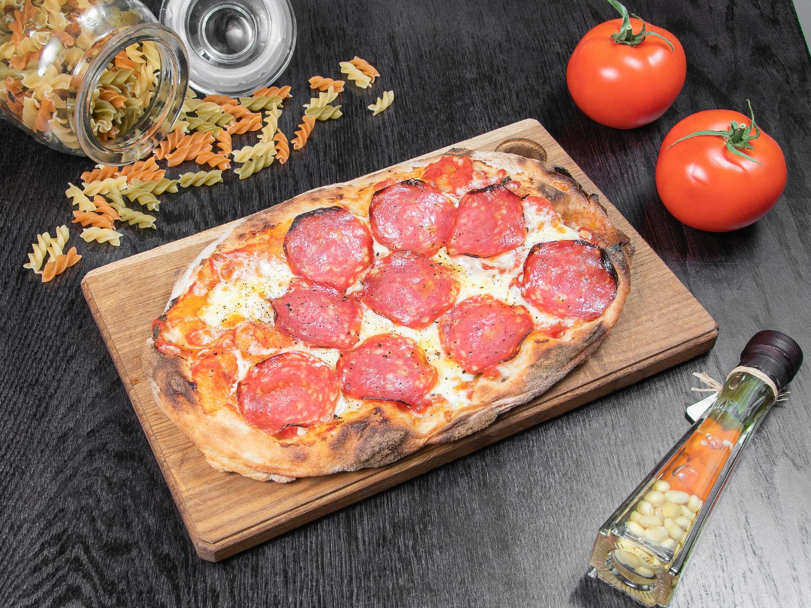 Римская пицца Пеперони