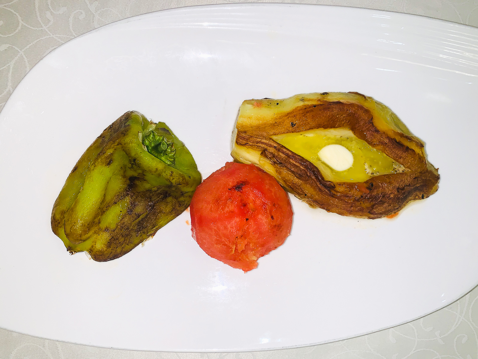 Овощи на вертеле