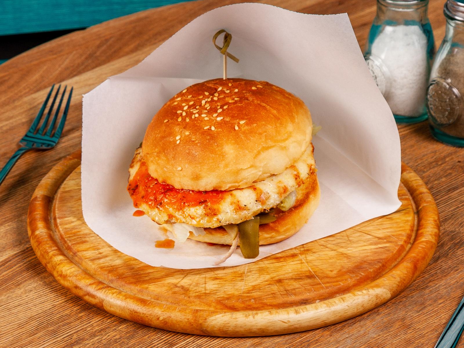 Бургер Классика с курицей