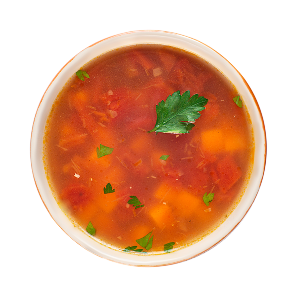 Суп с бататом, нутом и чечевицей
