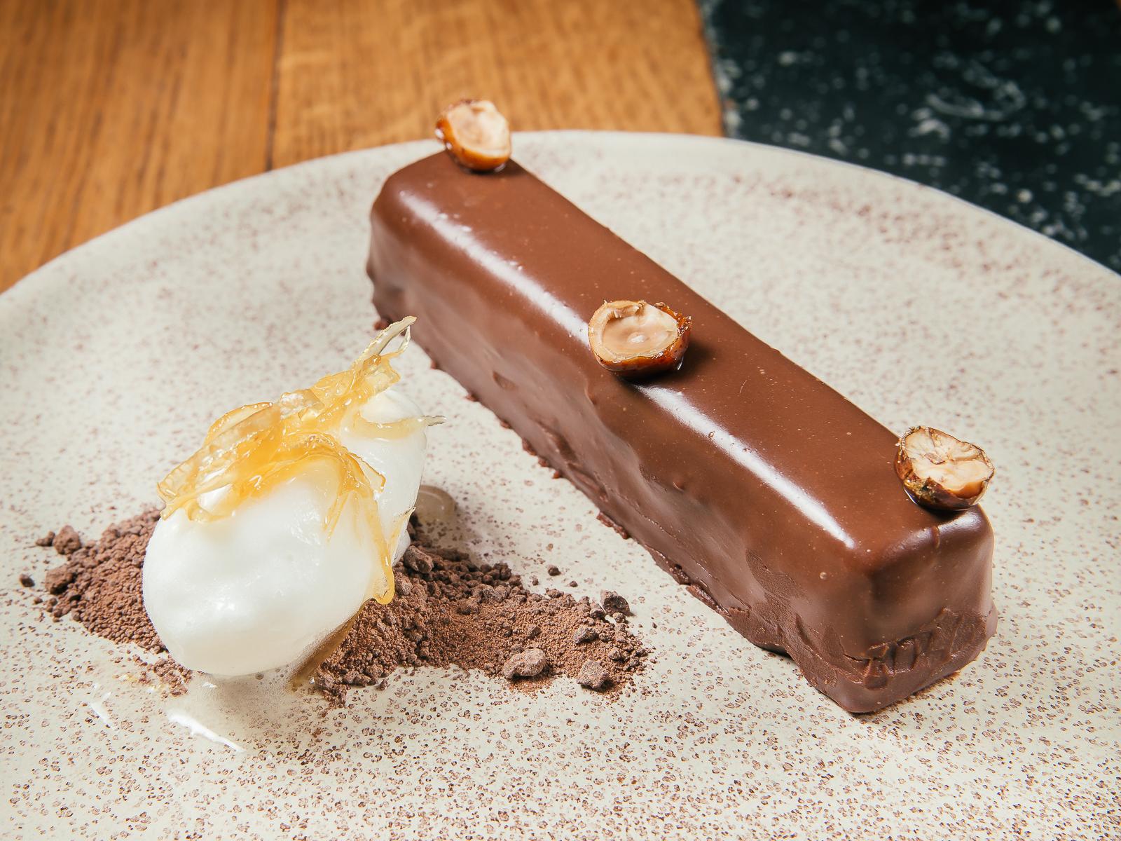 Домашний шоколадно-ореховый батончик