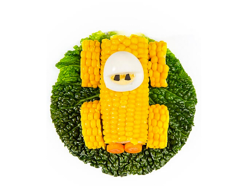 Кукурузная тачка