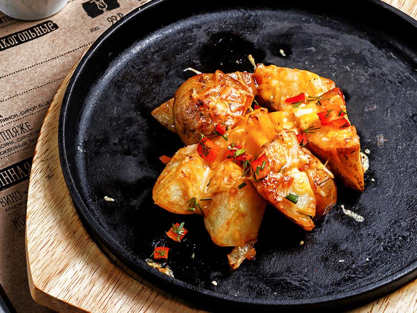 Сковородка с картофелем