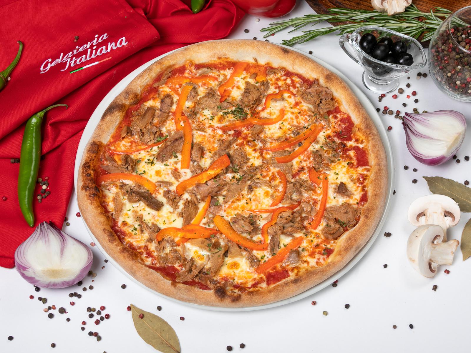Пицца Тонно пепперони