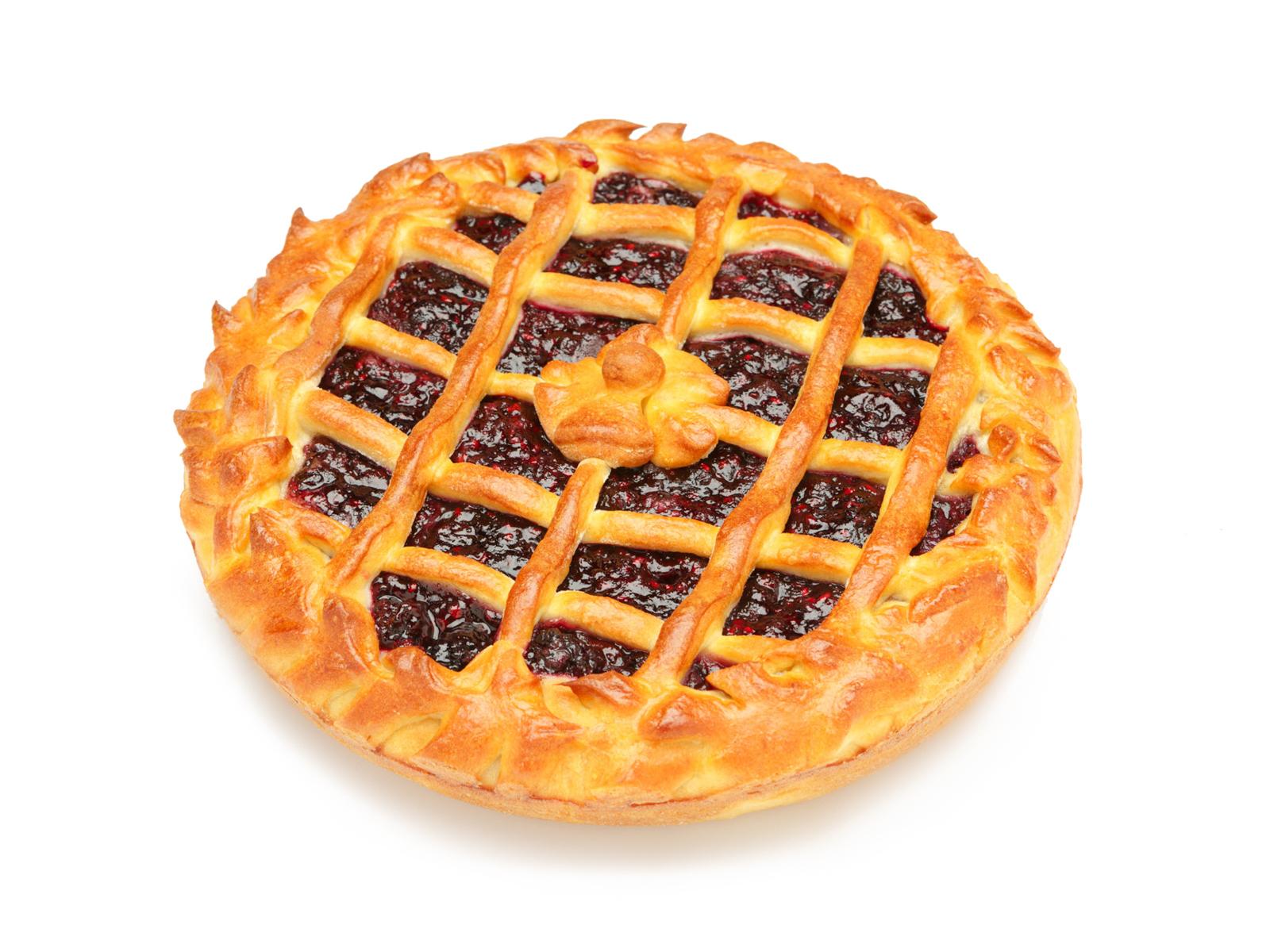 Пирог с ежевикой