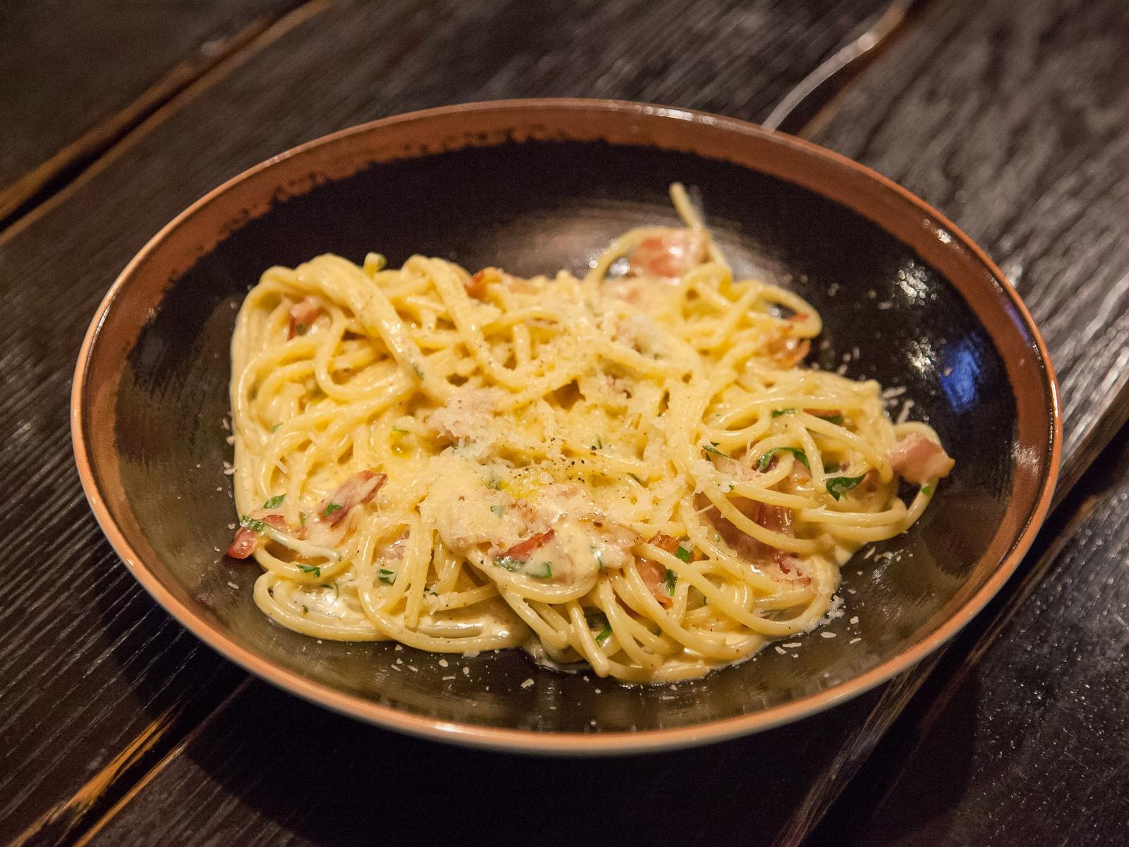Паста Спагетти-Карбонара