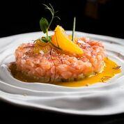 Тар-тар в азиатском стиле из лосося