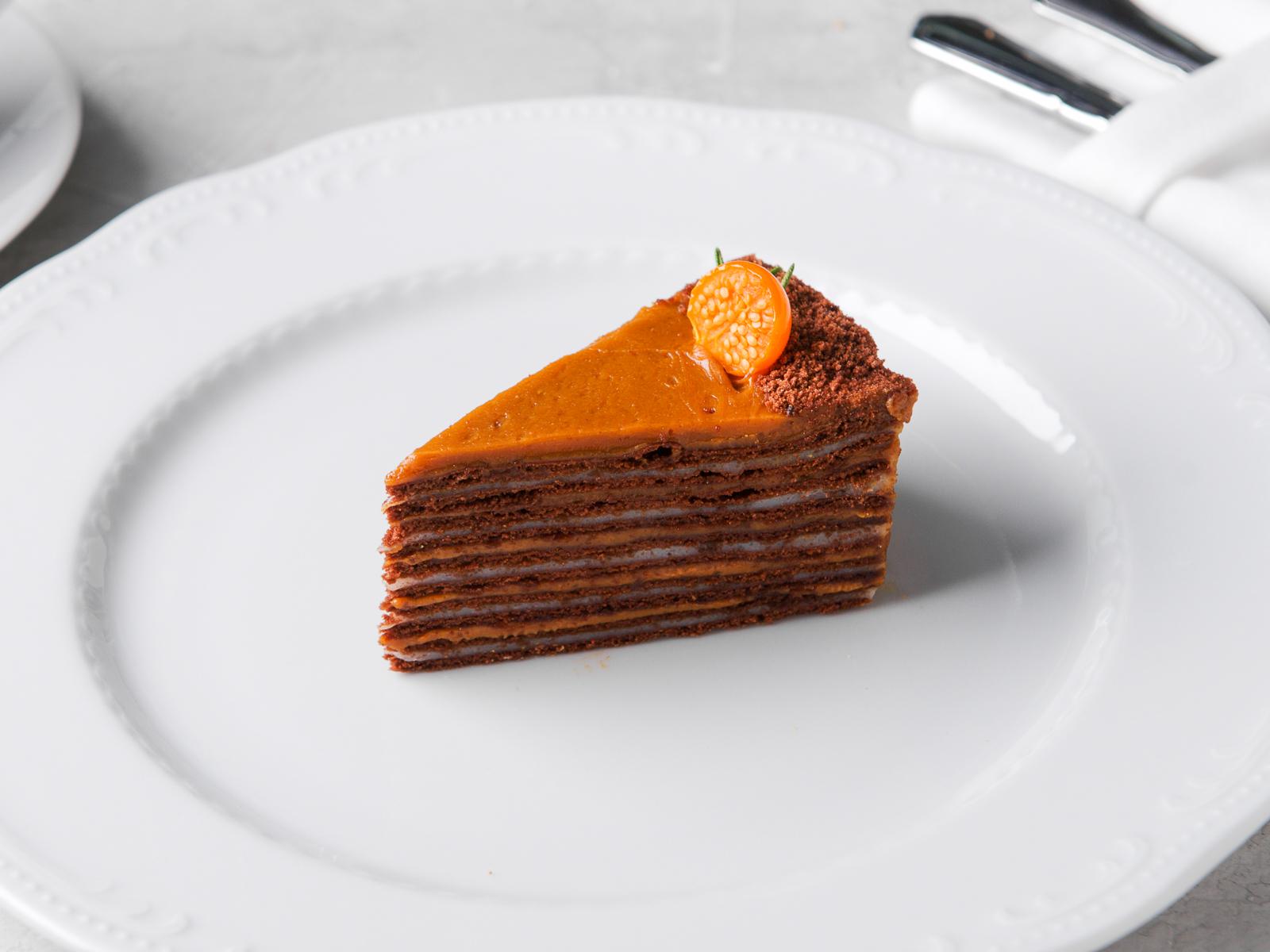 Торт Медово-шоколадный Дуэт
