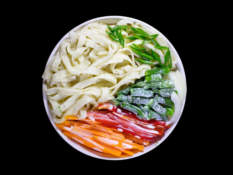 Вок Удон с овощами