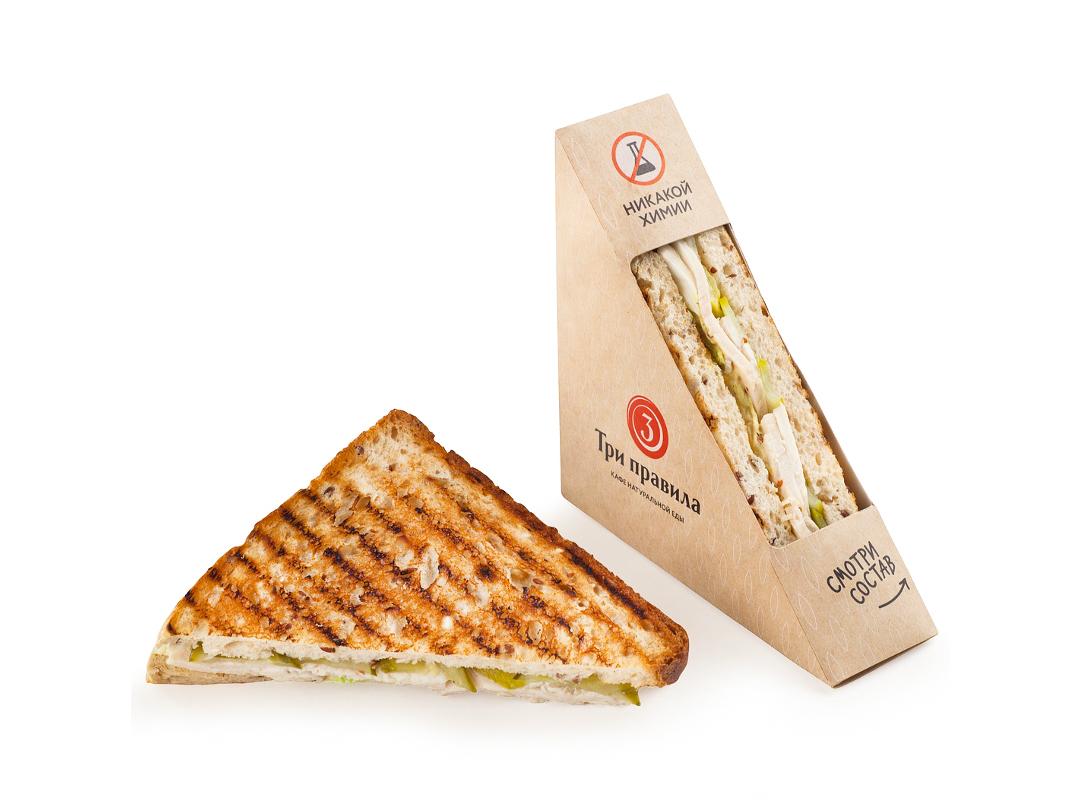 Сэндвич из нежной индейки