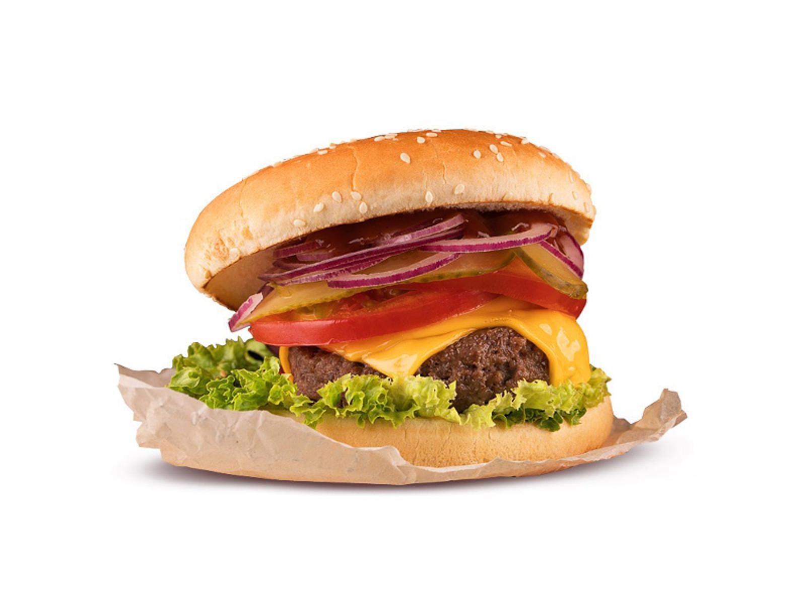 Бургер Халяль с бараниной