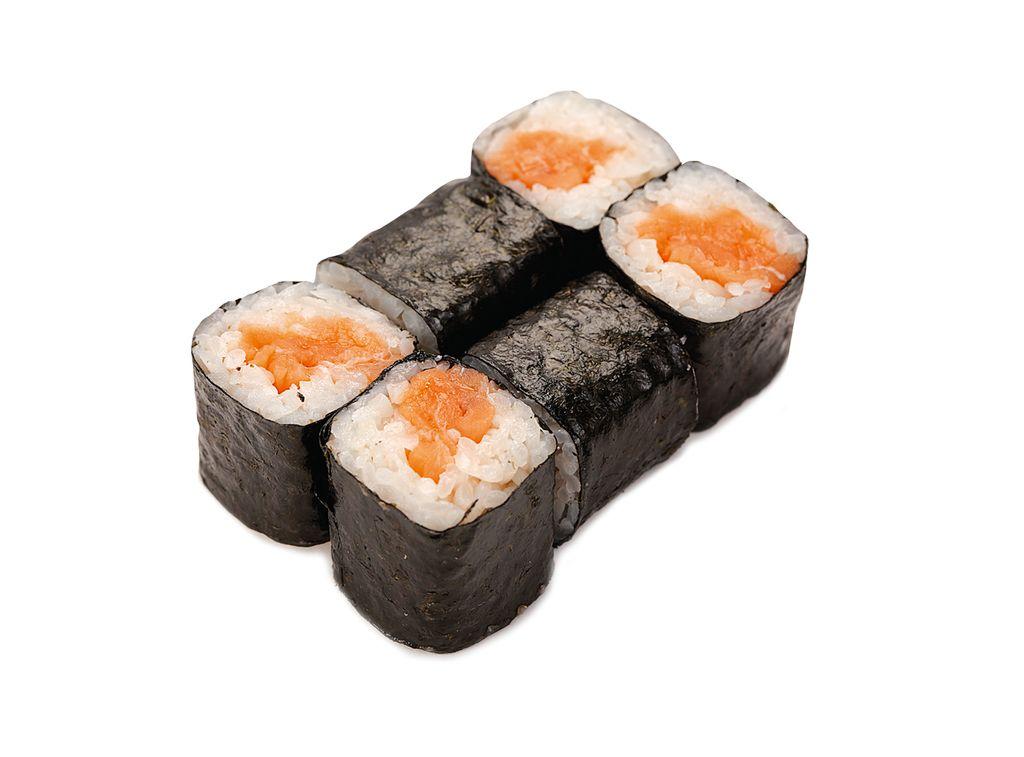 Ролл Мини маки с лососем
