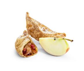 Гедза с яблоком