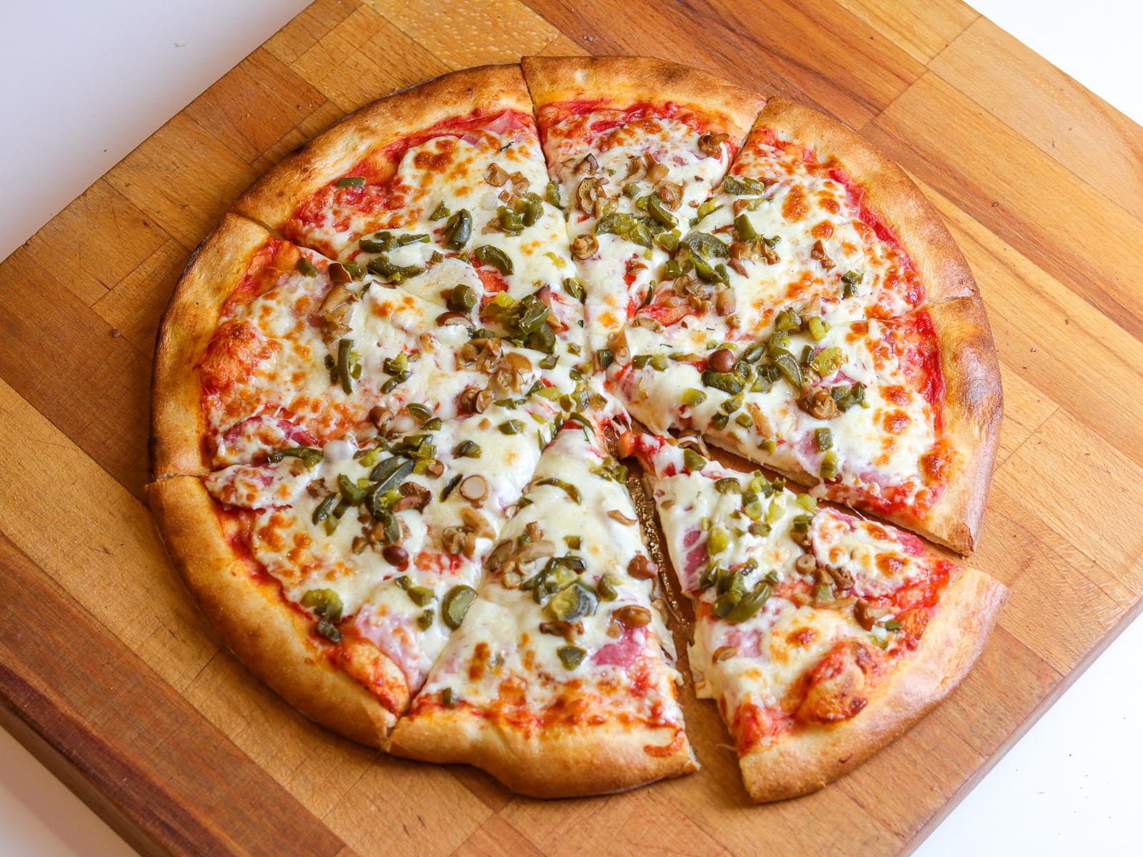 Пицца Острая на пышном тесте