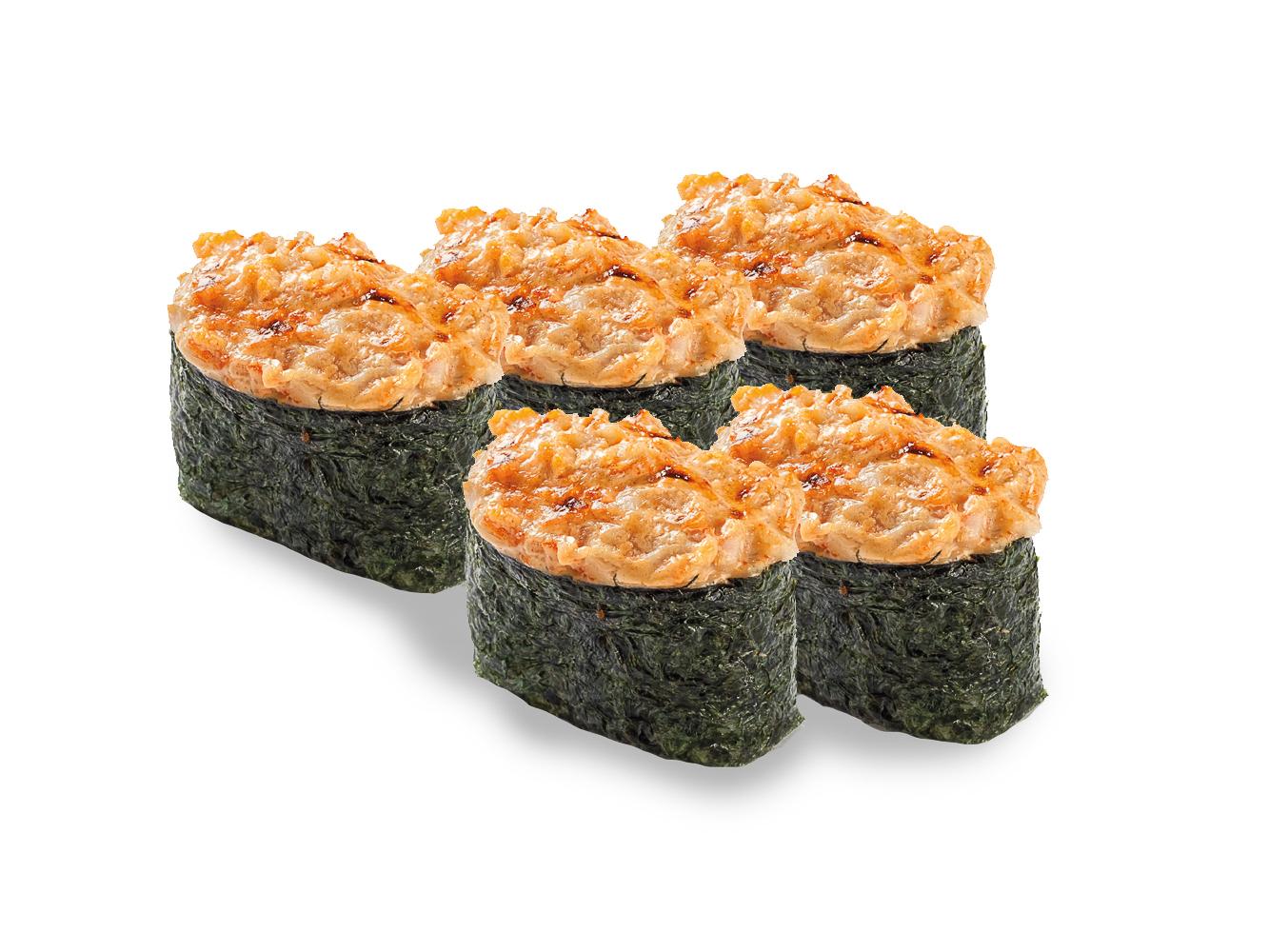 Запеченный суши сет
