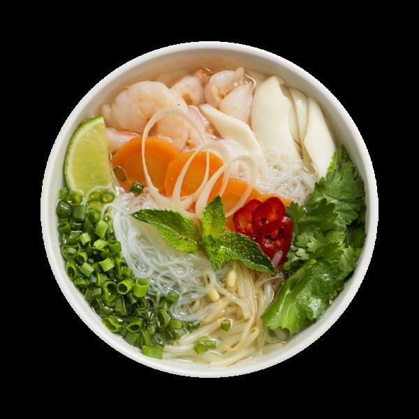 Суп фо с морепродуктами