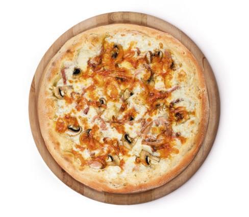 Пицца Копченая курочка и грибы