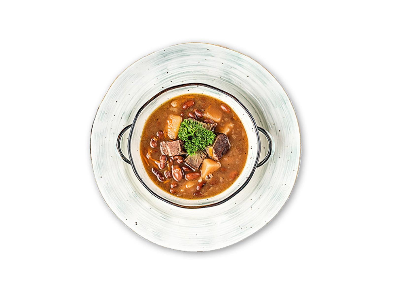Суп Фасолевый с сушенным мясом