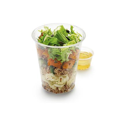 Тыквенный салат с киноа