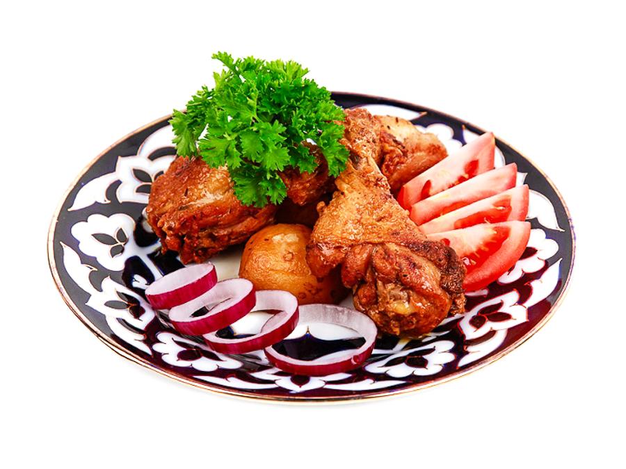 Казан-кебаб из курицы