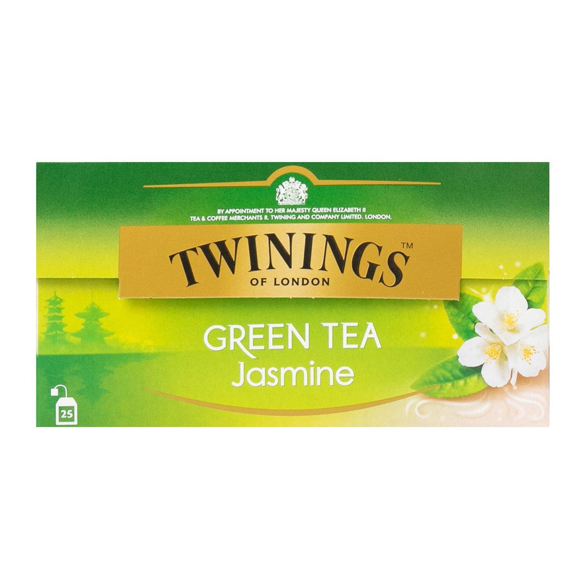 Twinings чай зеленый жасмин