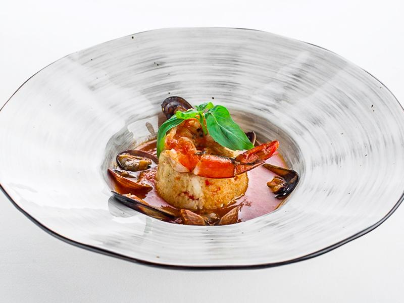 Кускус с морепродуктами