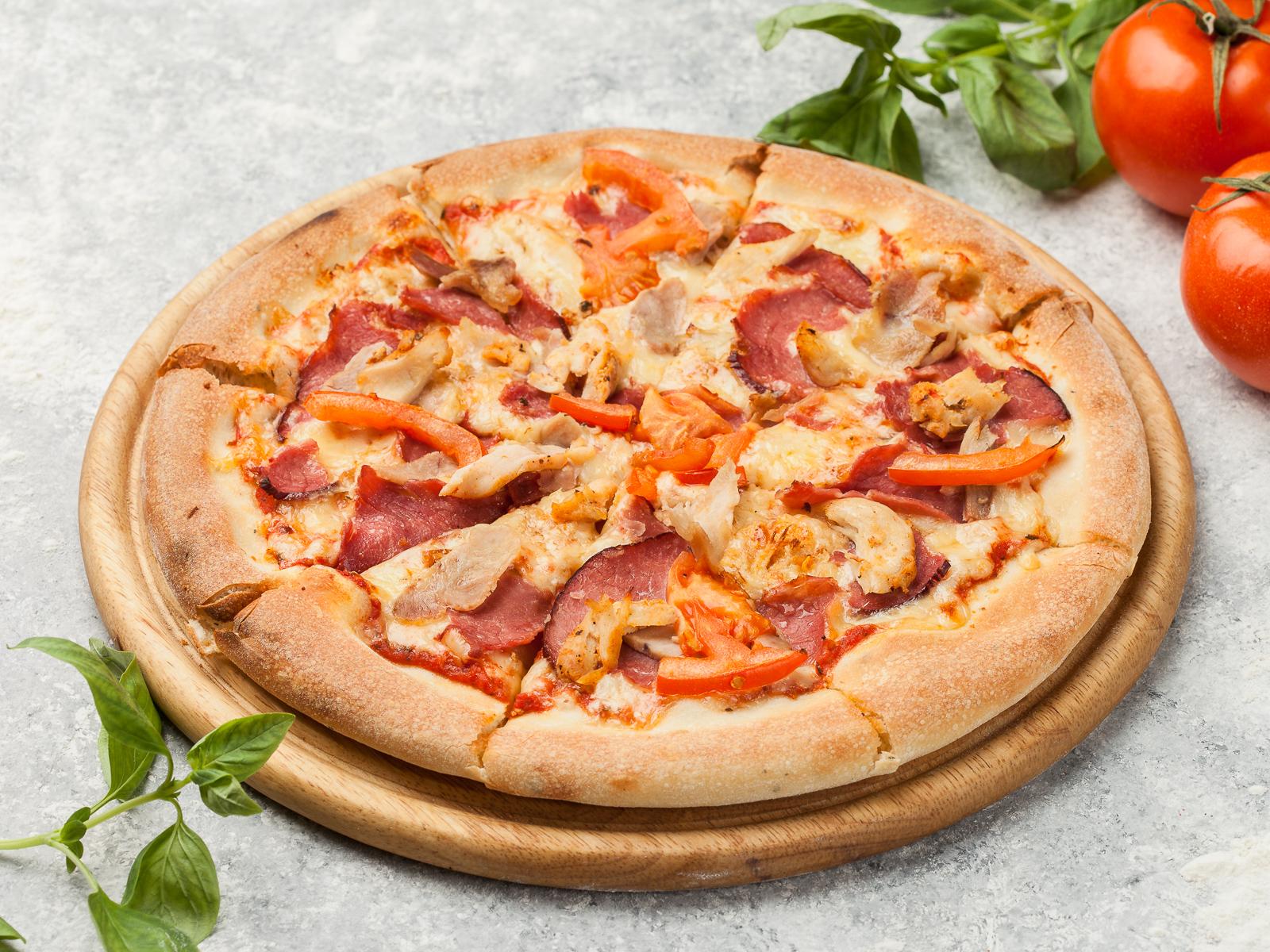 Пицца Мясное удовольствие