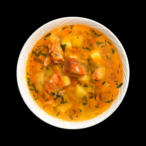 Суп рыбный с неркой