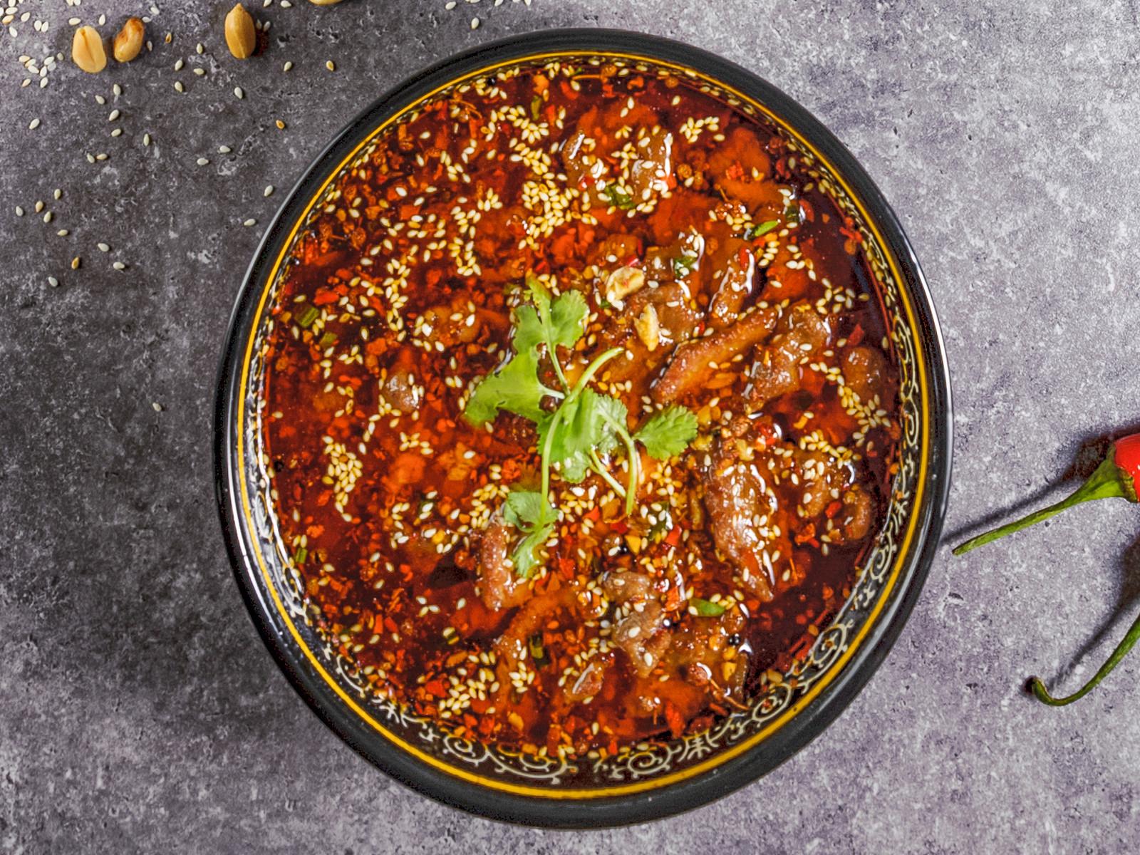 Говядина с китайской капустой