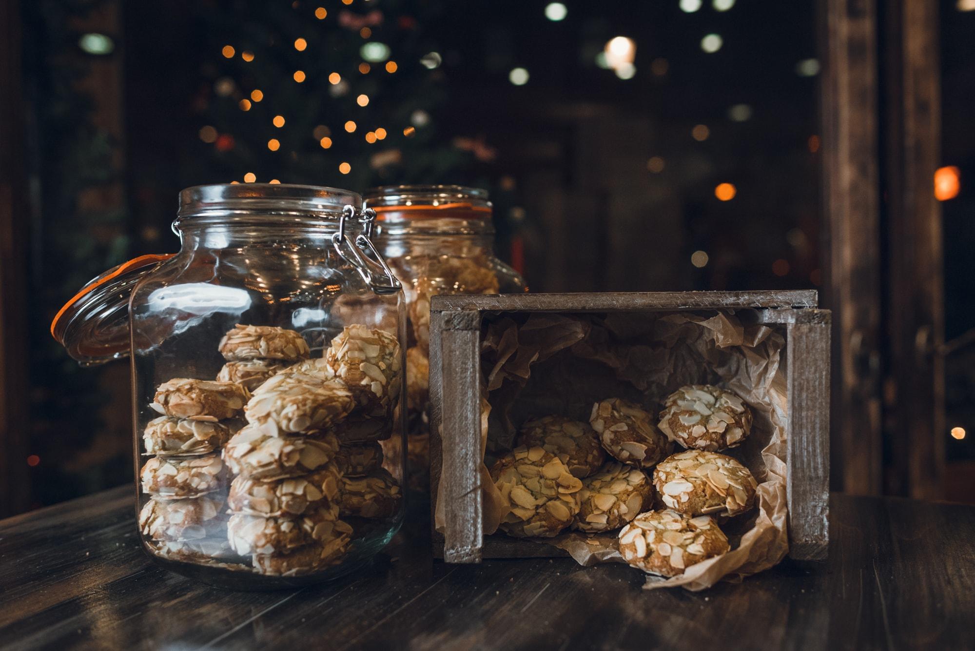 Печенье Миндально-фисташковое