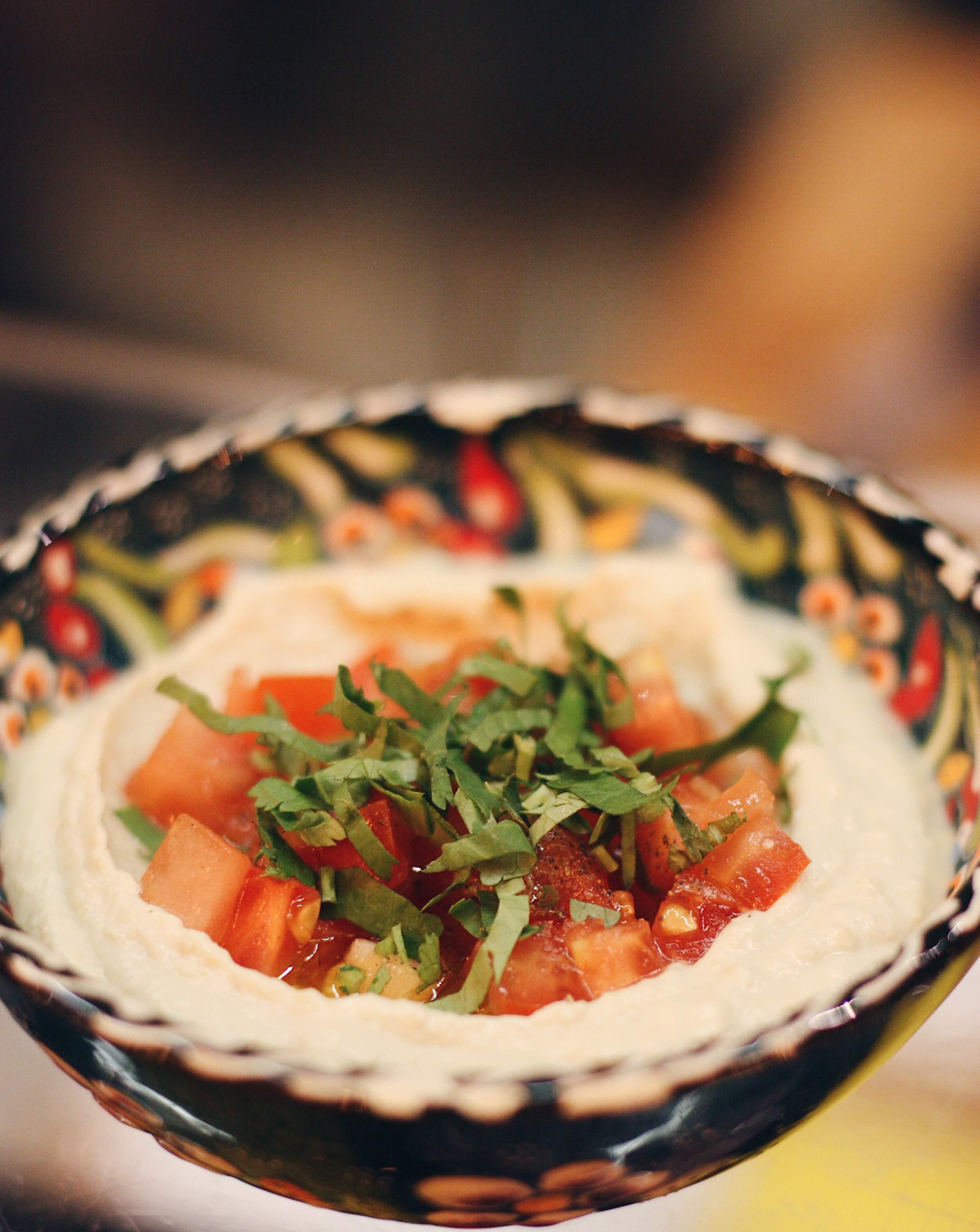 Хумус по-ливански