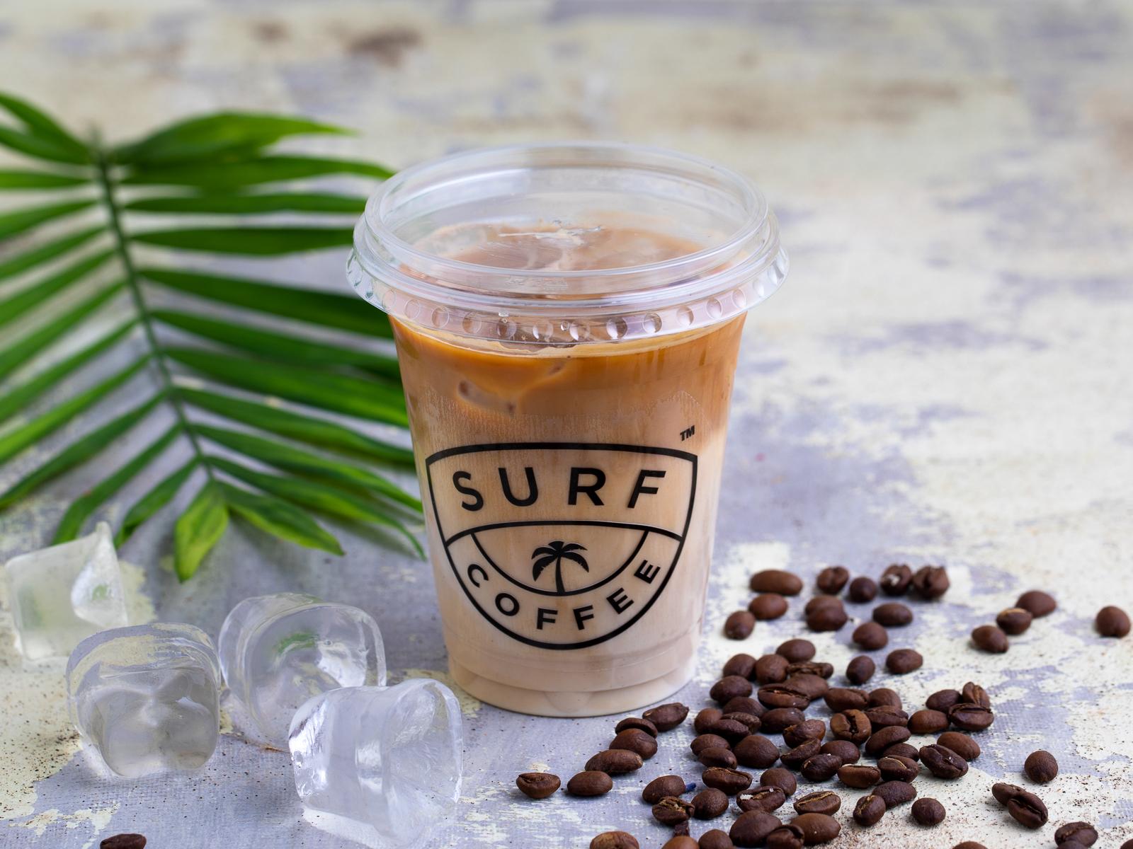 Холодный кофе Айс-Латте