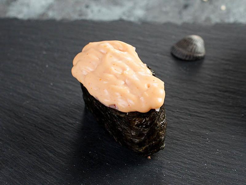 Суши с креветкой острые