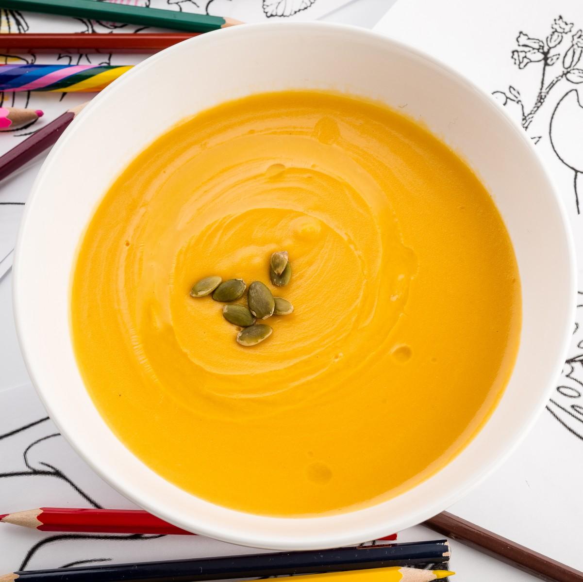 Тыквенный суп \