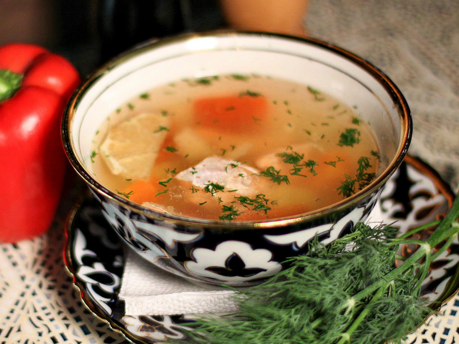 Суп Балык-шурпа