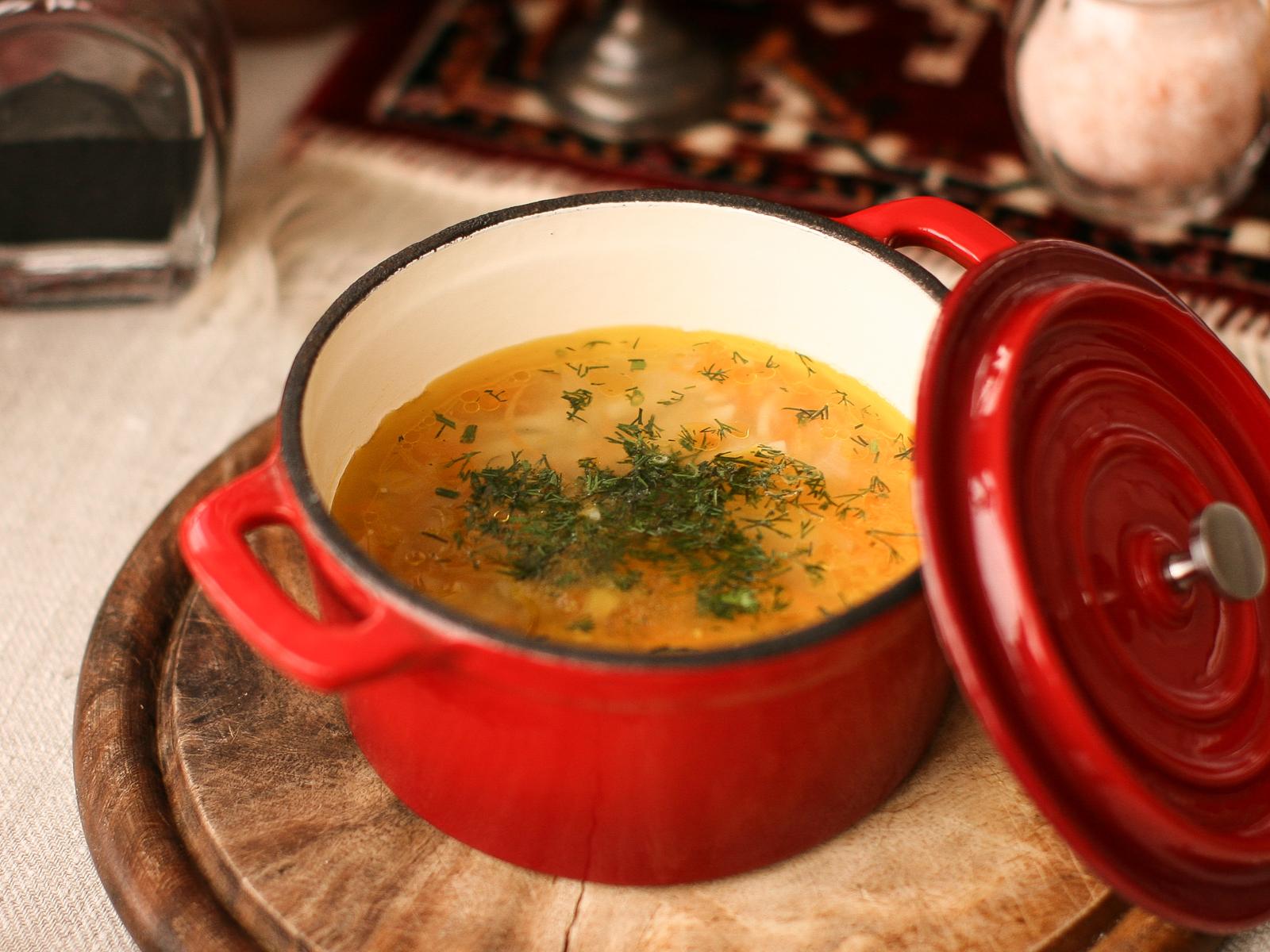 Суп лапша куриная