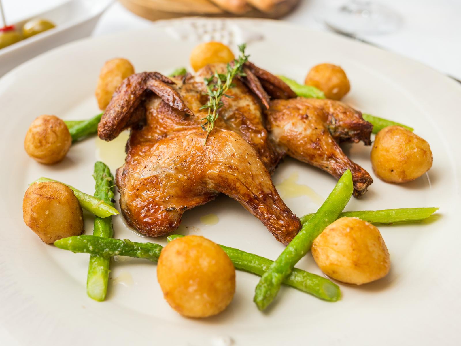 Цыпленок Пиканте запеченный  по старинному рецепту провинции Тоскана