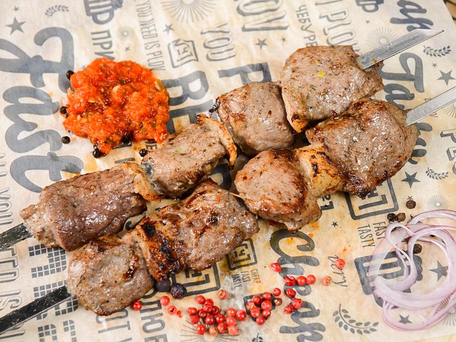 Шаш-кебаб из баранины