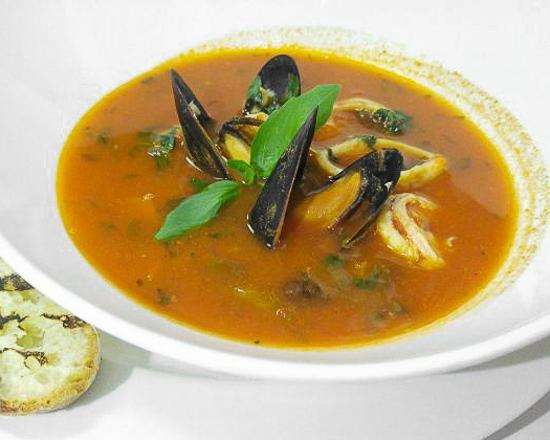 Суп Рыбацкий с морепродуктами