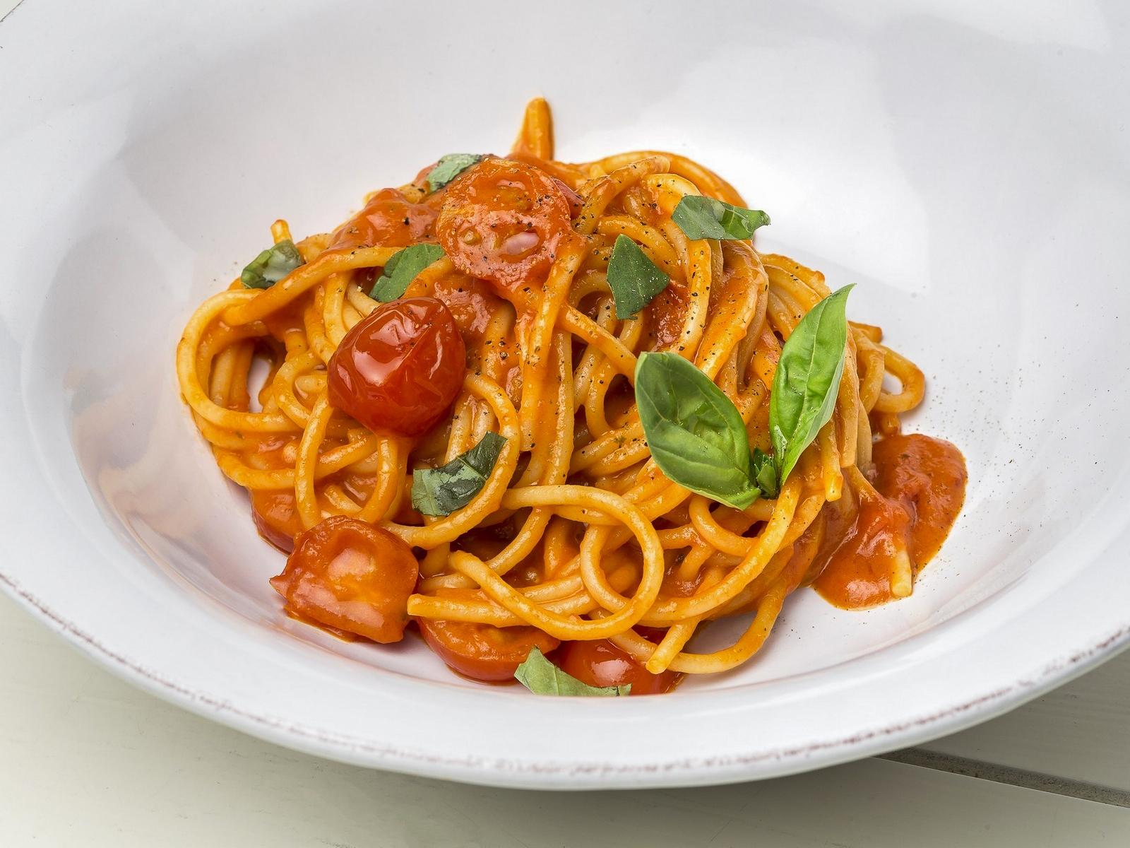 Спагетти помидорини