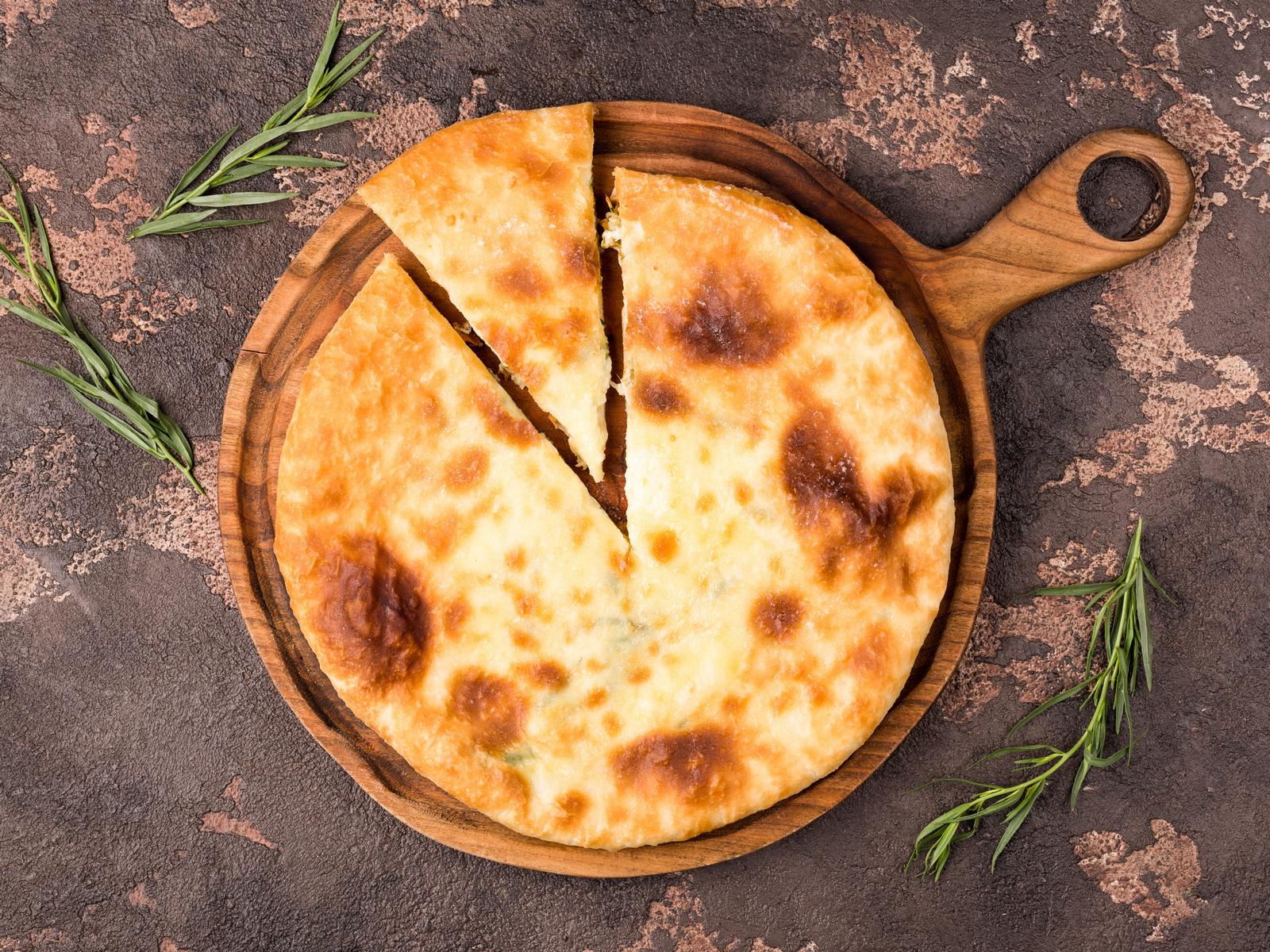Хачапури с тархуном и сыром