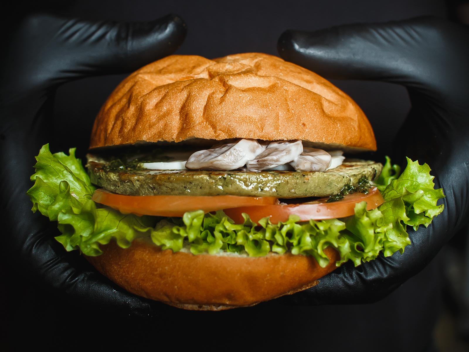 Бургер Ни рыба ни мясо