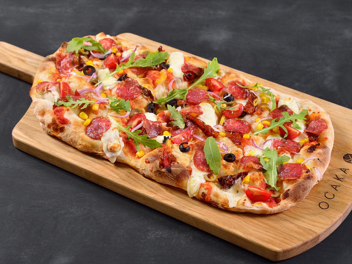 Пицца Салями мексикана