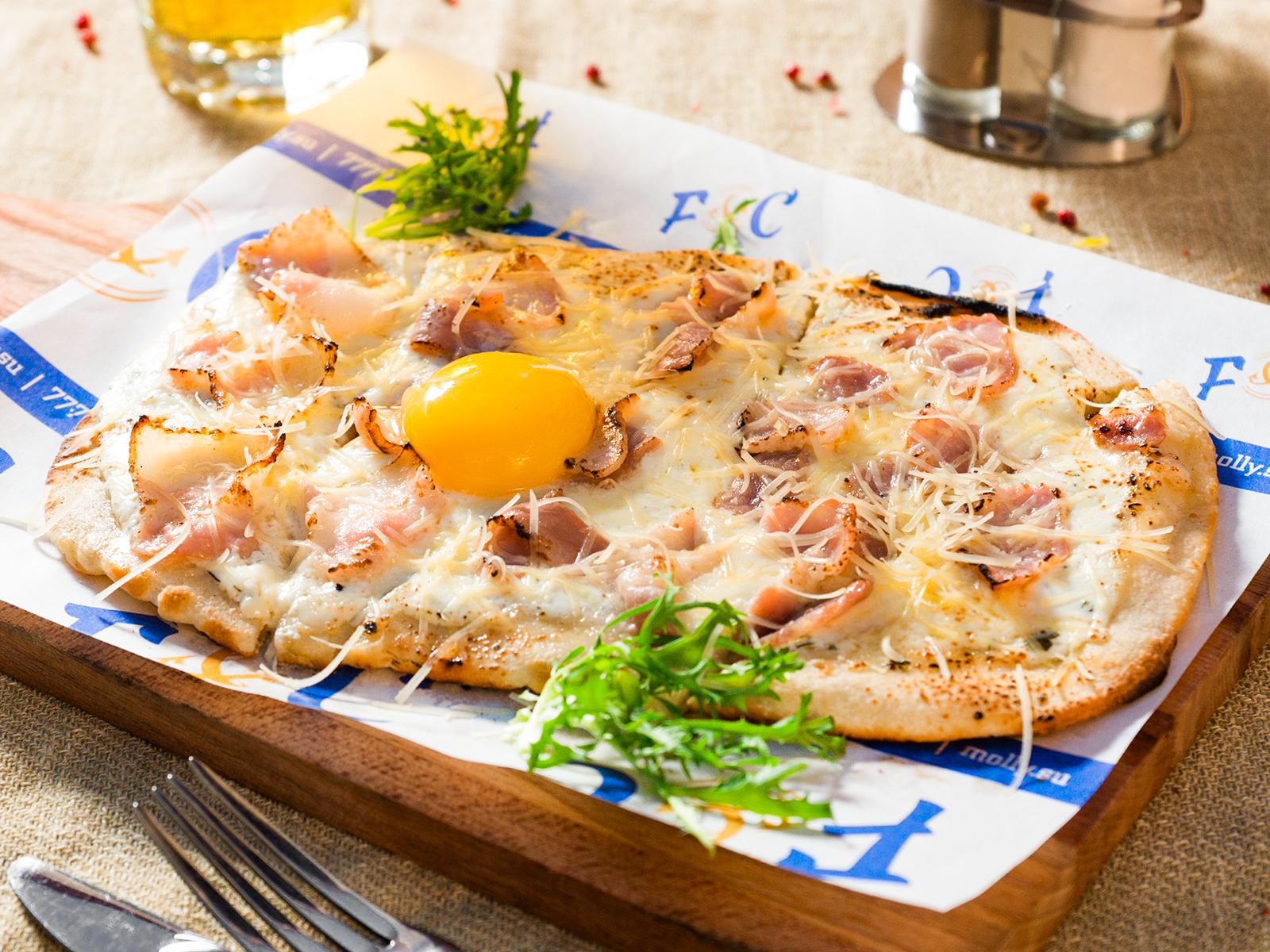 Пиццетта Карбонара