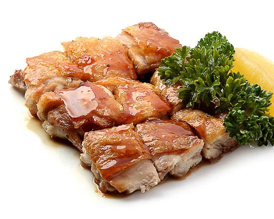 Курица с соусом терияки