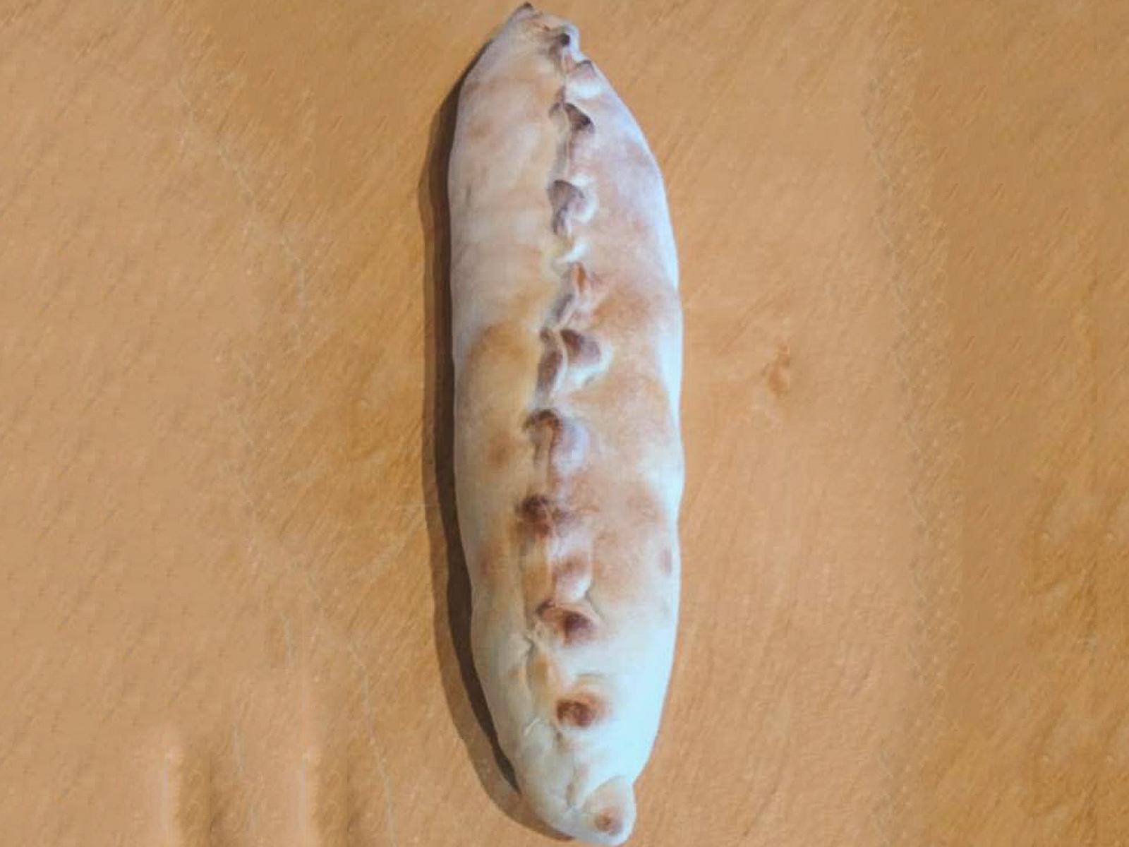 Пицца мини-кольцоне с ветчиной и грибами