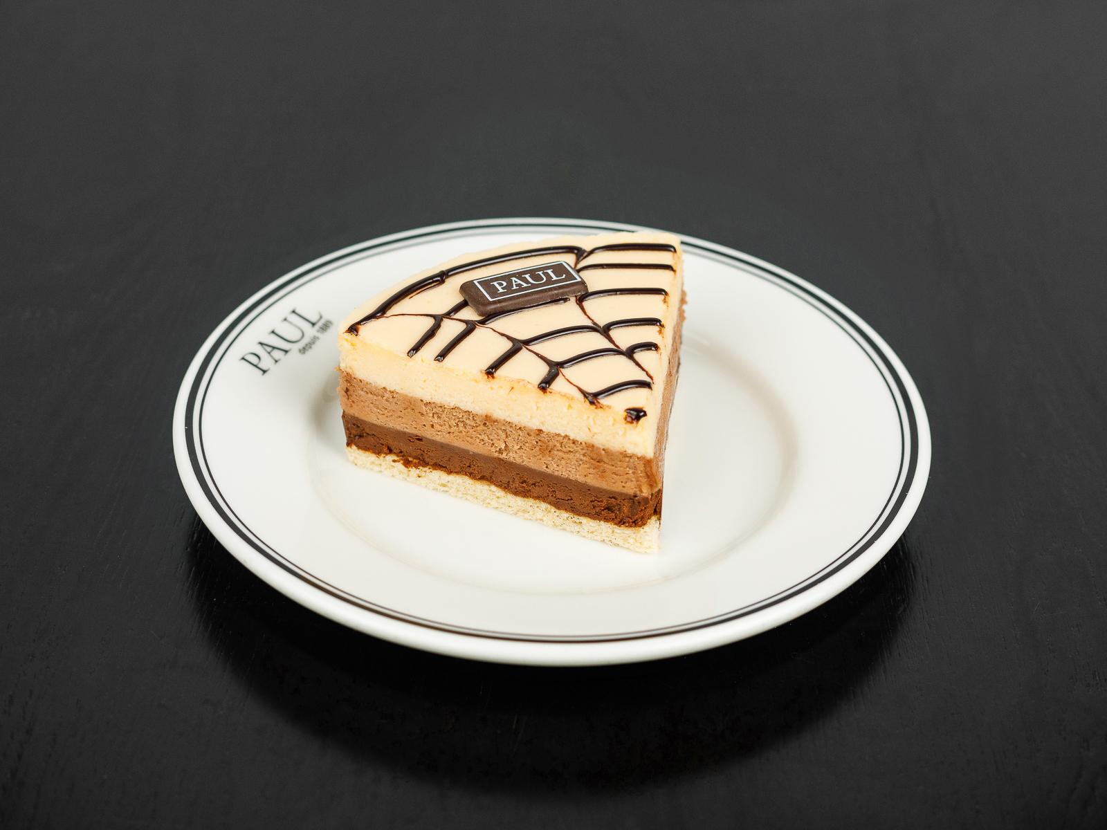 Торт Шоколадное трио (порция)