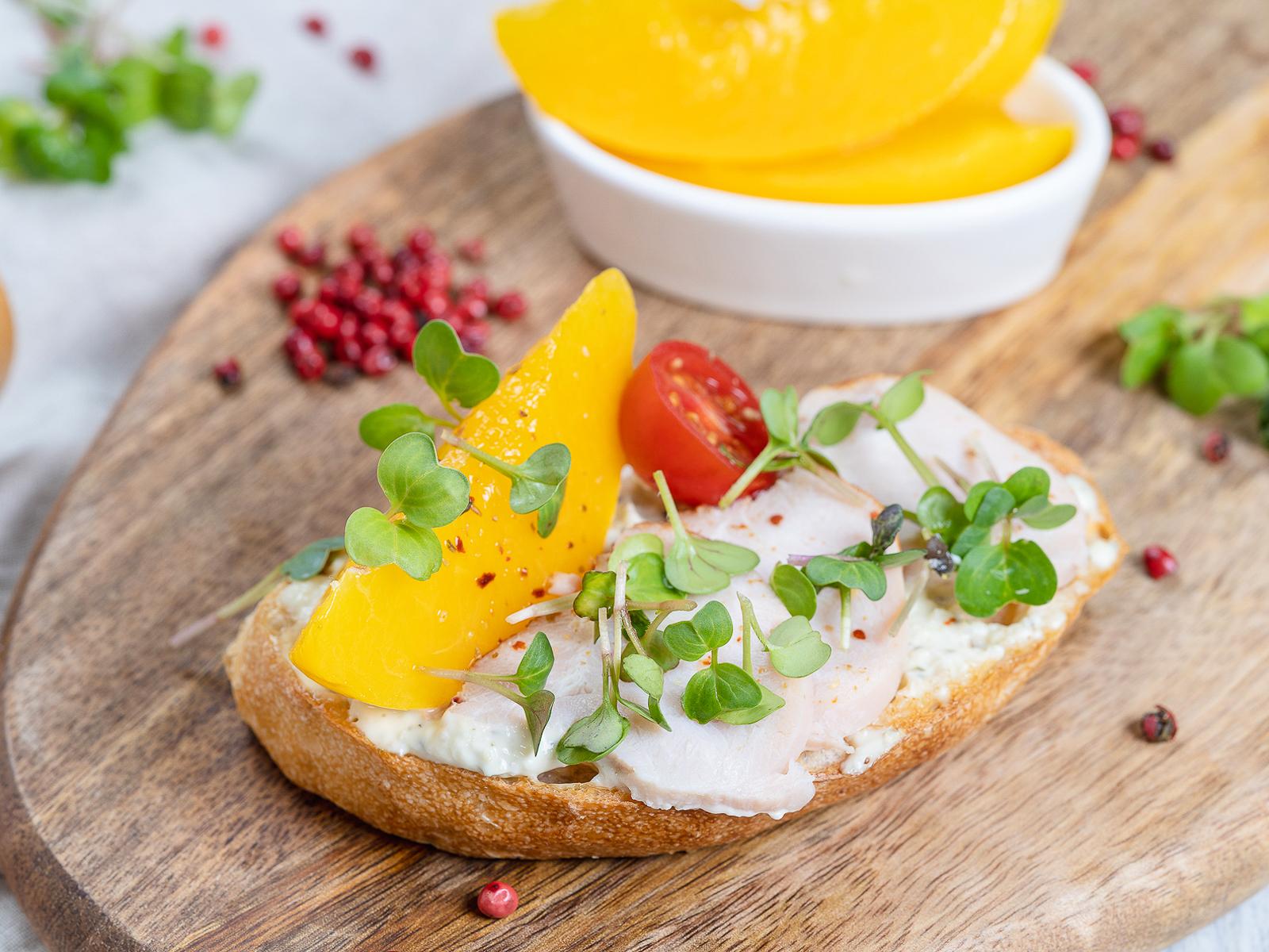 Бутерброд Под солнцем Крыма