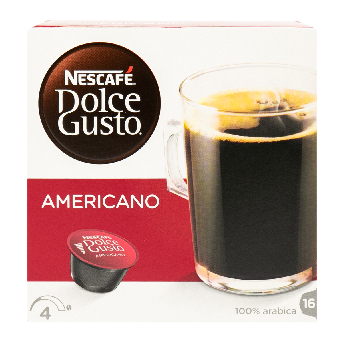 Nescafe Dolche Gusto американо